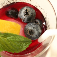 Antioxidant Rich Blueberry Green Tea