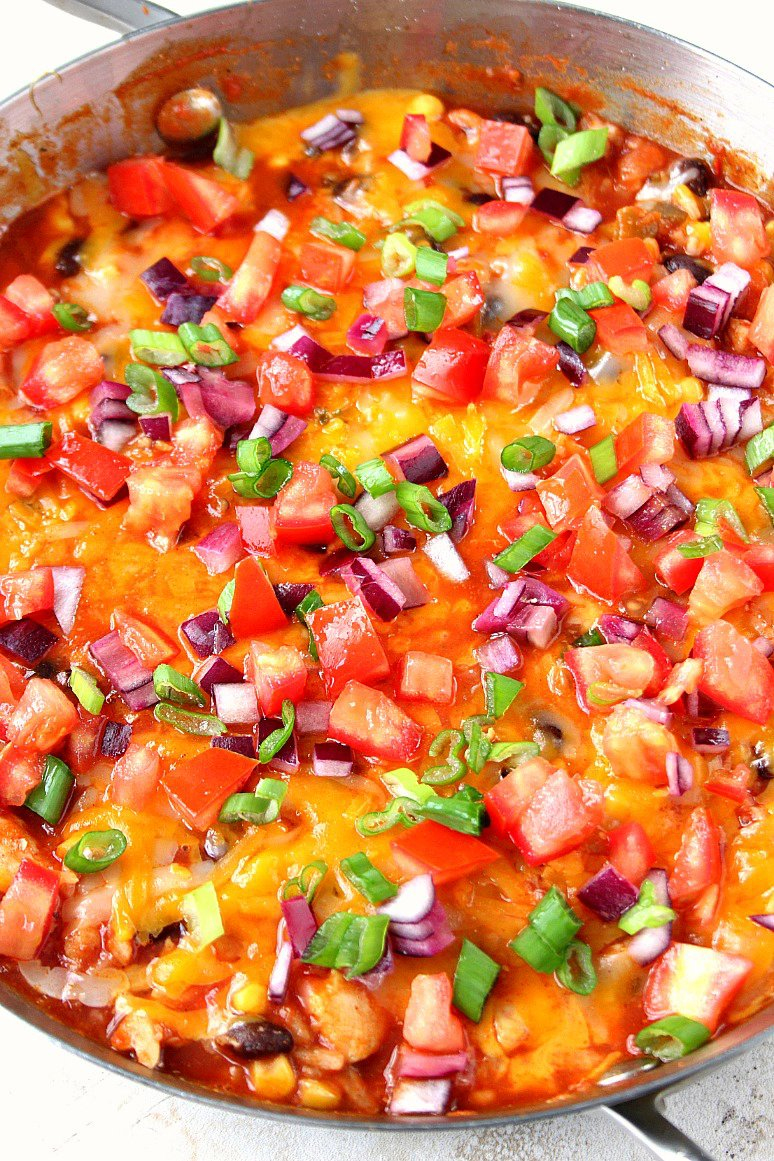 Mexican Chicken and Rice Skillet Recipe