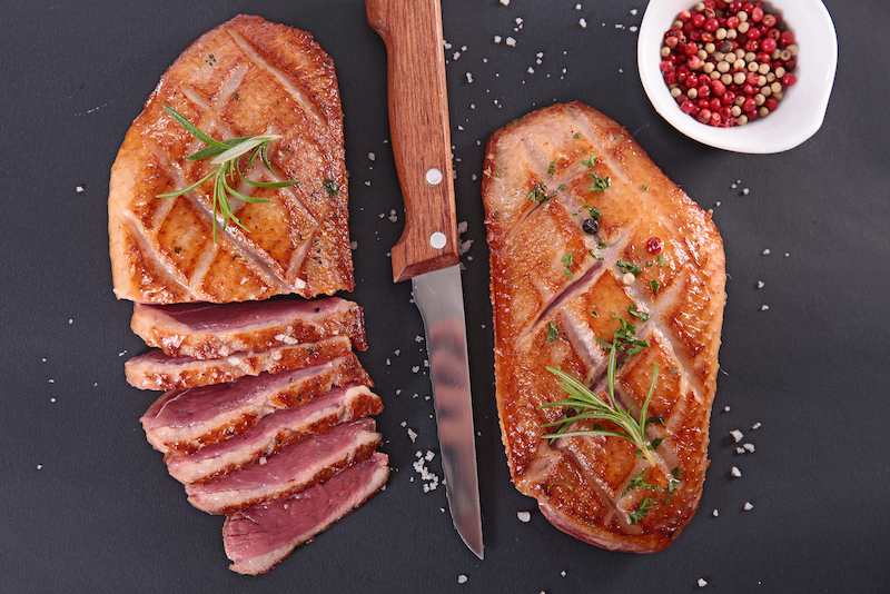 Matcha Spiced Duck Breast